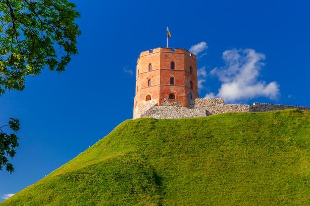 リトアニア、ビリニュスのゲディミナス塔