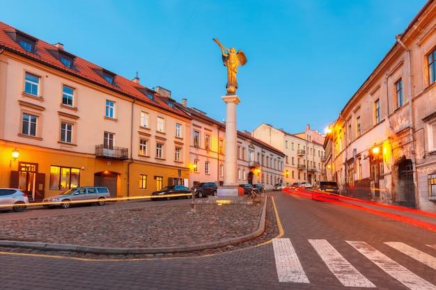 リトアニアのビリニュスにある独立共和国ウズピス。