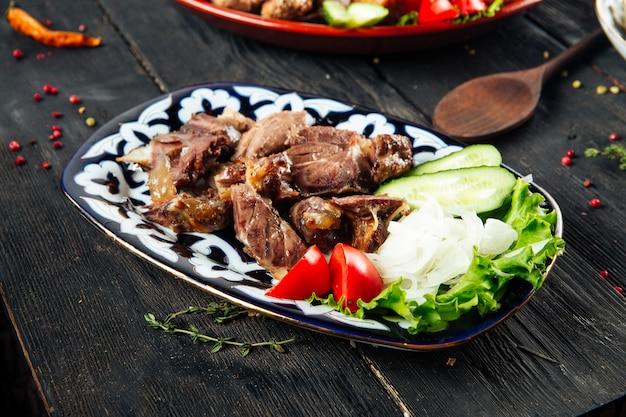 Джиз-биз - традиционное жаркое по-азербайджански