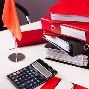 Таблица флагов папок калькулятора рабочего места офиса