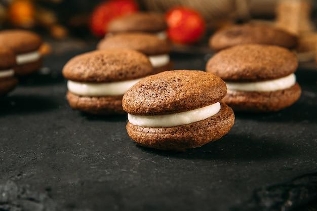 Бисквитное печенье с какао