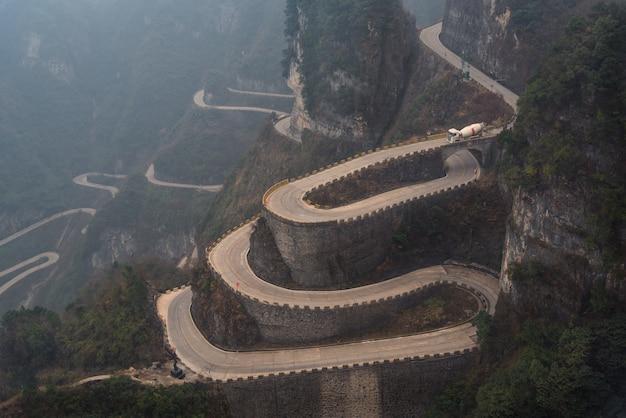 天門山中国