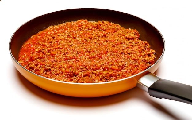 фарш лук томатный соус