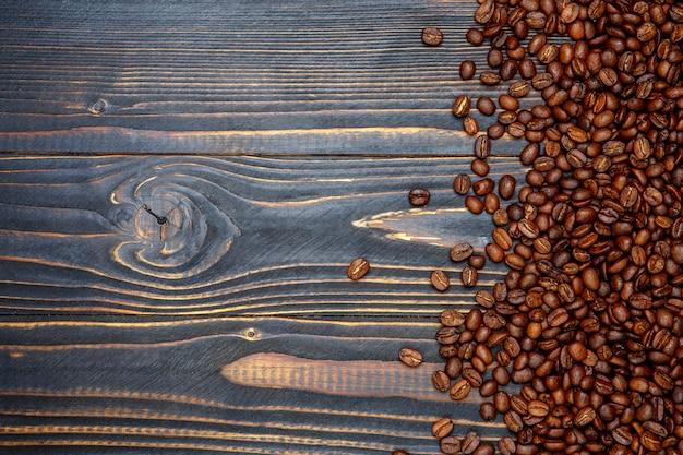 豆で作られたコーヒーフレーム
