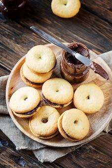 Домашнее печенье с шоколадом