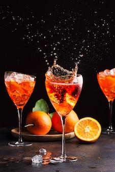 Итальянский аперольный коктейль