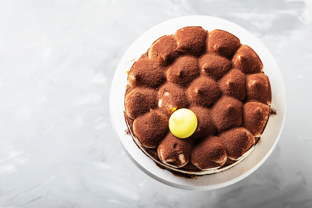 伝統的なイタリアンケーキティラミス