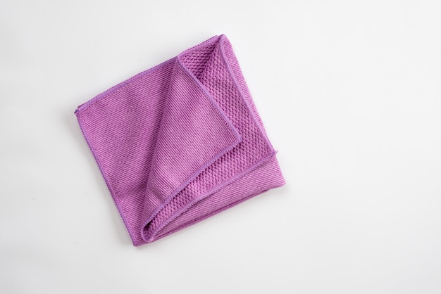 Фиолетовая тряпка