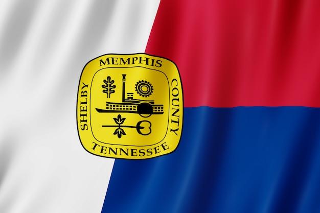 テネシー州メンフィス市の旗