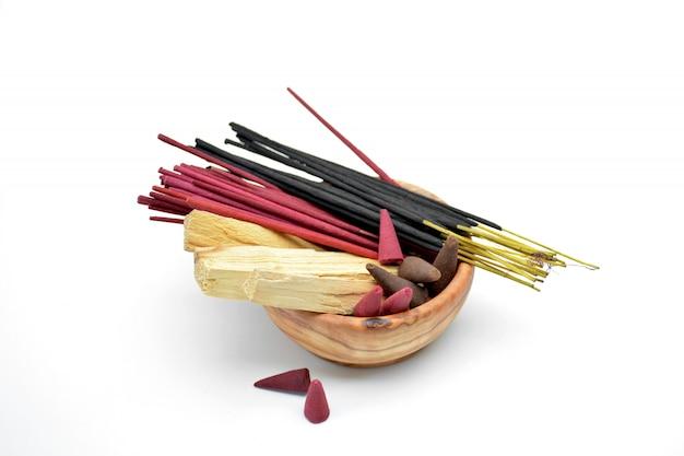ボウルに香のいくつかの種類
