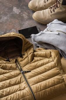 Зимняя одежда для мужчин.