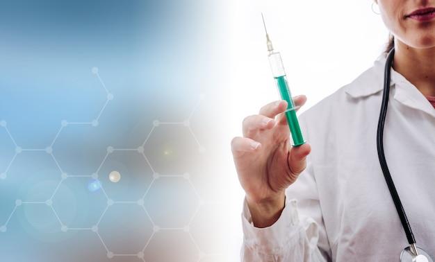 医師の予防接種