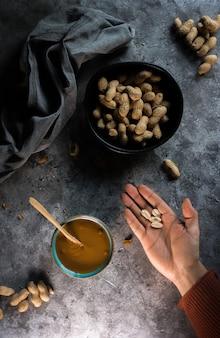 Фотография домашнего арахисового масла