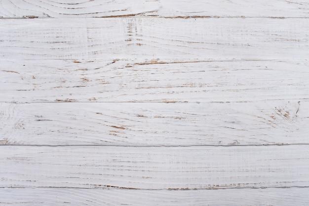 ホワイト木製の面