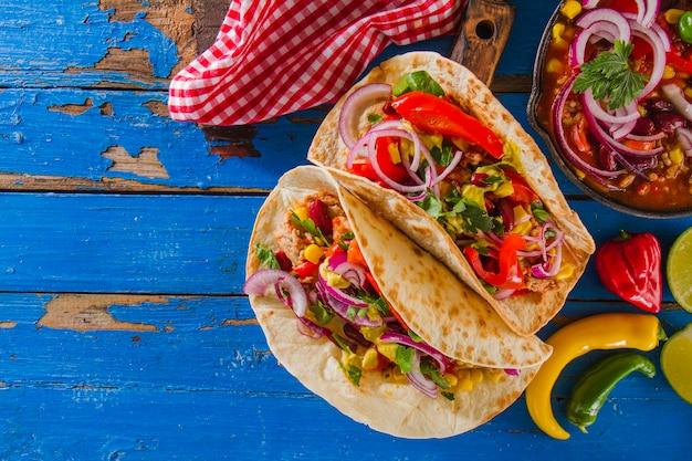 Мексиканская свежая еда