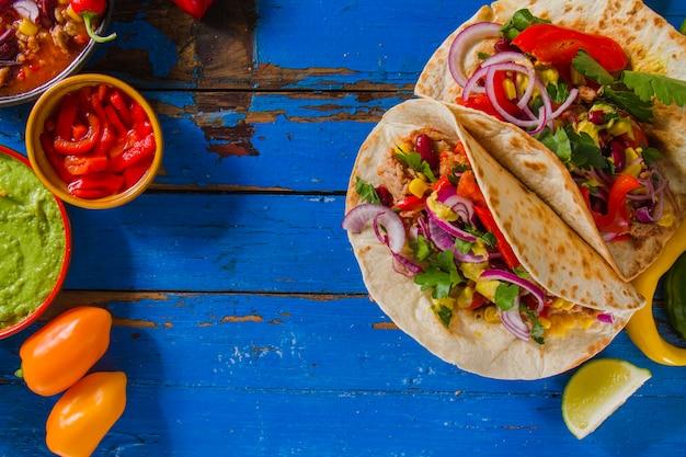 Типичная мексиканская еда