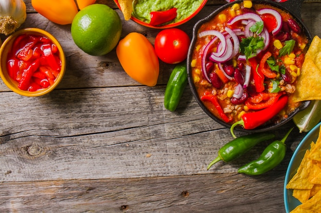 Вкусная мексиканская еда