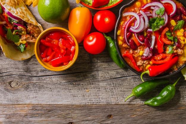 Свежие мексиканские ингредиенты