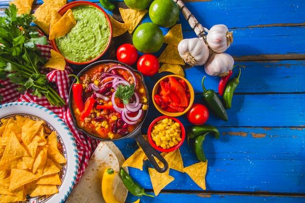 Меню мексиканского ресторана