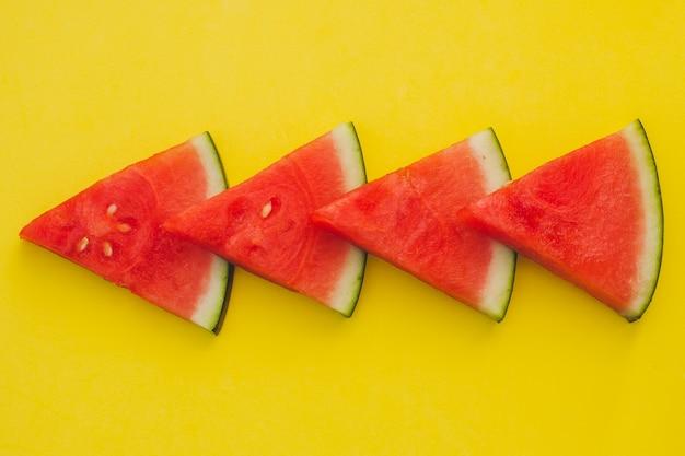 Арбузные треугольники композиционно