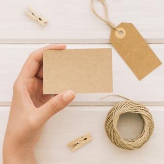 タルベのカードや装飾品の手
