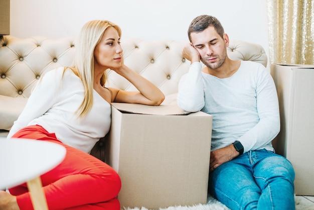 Усталость удаления пары в коробках