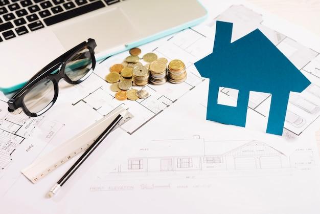家とコインの計画