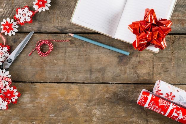 小冊子入りクリスマスの構成