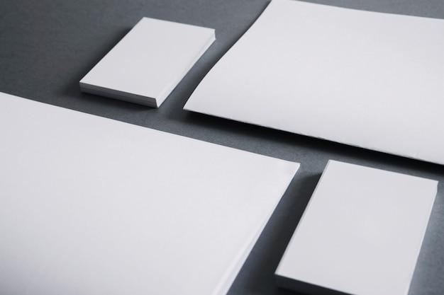 ビジネスと文房具のコンセプト