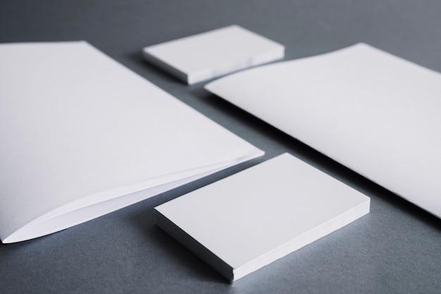 空白の文房具の概念
