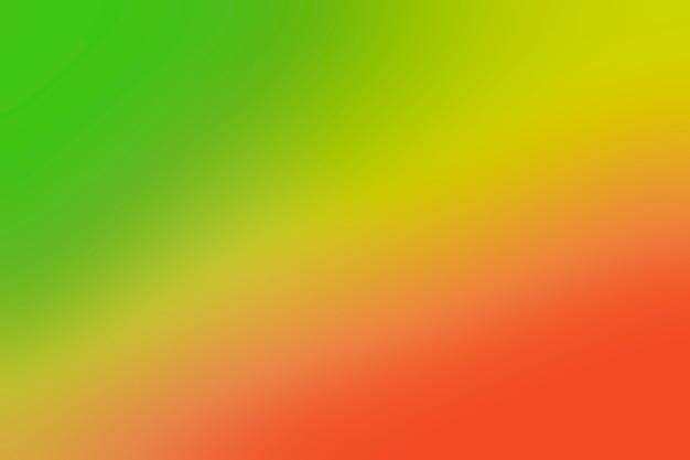赤と緑のグラデーションカラー