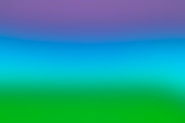 ブレンドした色のレインボースペクトル