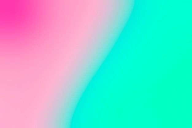 明るいピンクと青のブレンド
