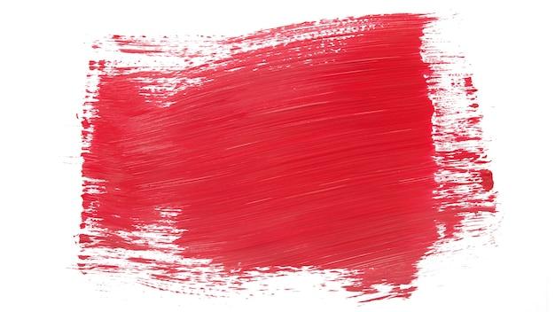 Красочный штрих на белом