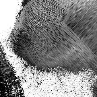Черные штрихи кисти