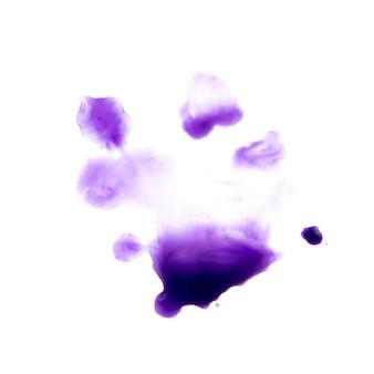 紫水彩ドロップ