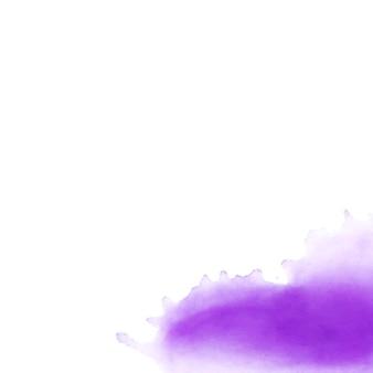紙に紫の汚れ