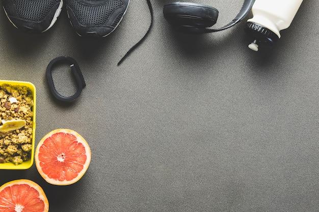 Следите за спортивным инвентарем и грейпфрутом