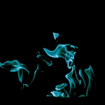 渦巻く青い炎