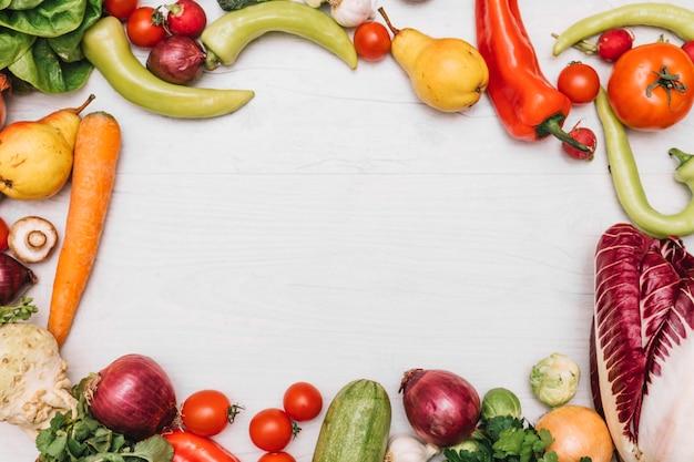 野菜からのボーダー