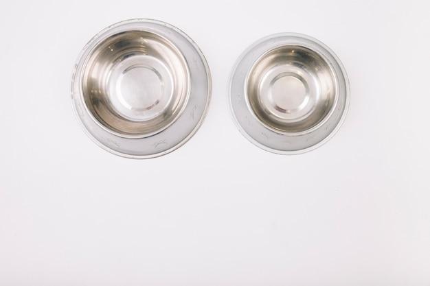 Пустые чаши для домашних животных