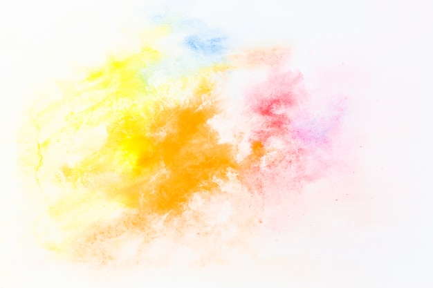 明るい水彩画のドロップ