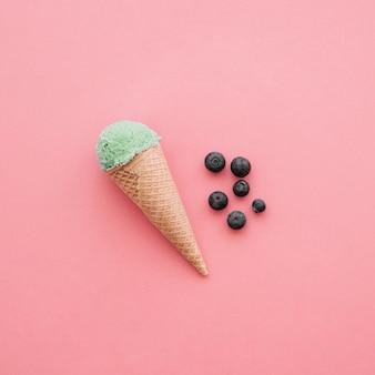 おいしいアイスクリームのコンセプト