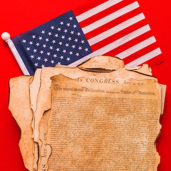 Форма дня независимости сша с декларацией