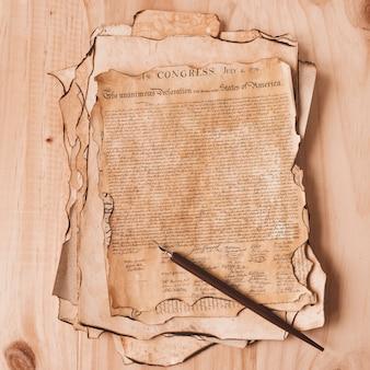 Концепция дня независимости сша со старой декларацией
