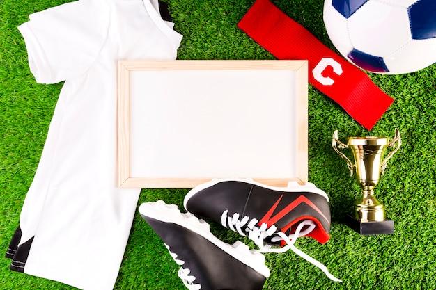 ホワイトボード付きサッカーコンポジション