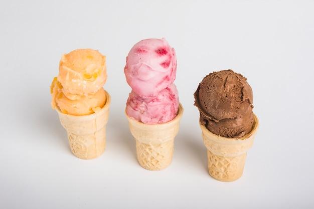おいしいアイスクリーム