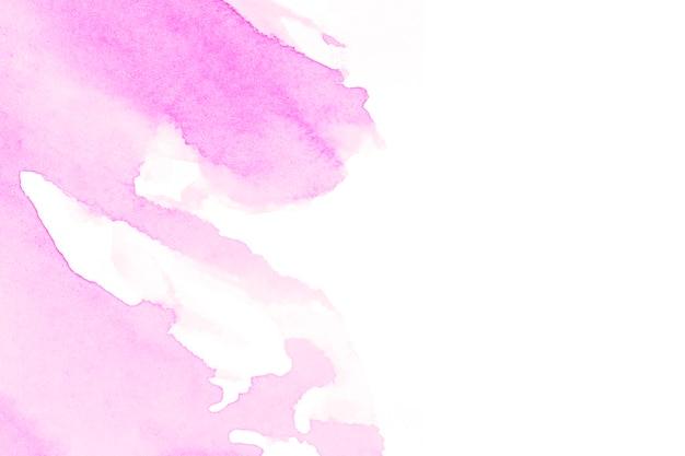 白い背景にかすかなピンクの色