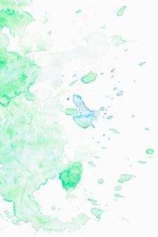 かすかな緑の水の色の背景