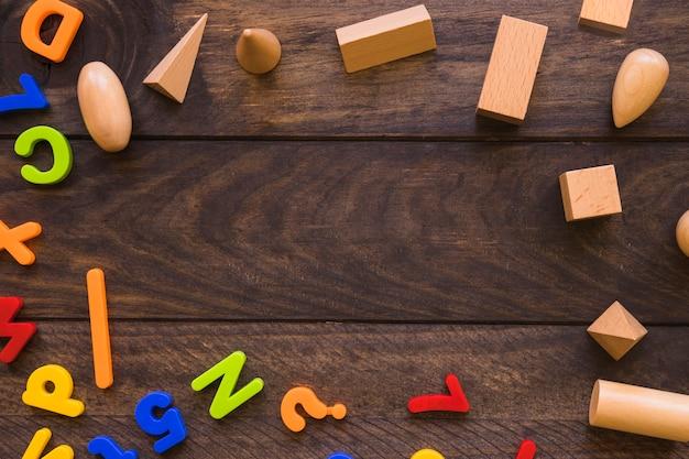 文字と幾何学的図形の境界